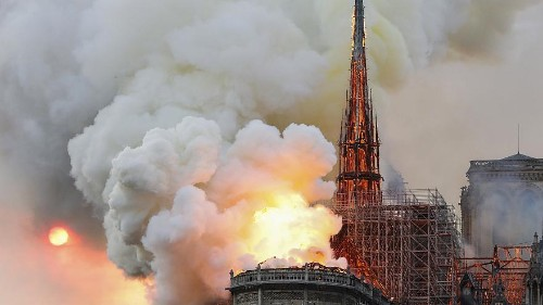 Live updates: Huge fire underway at Notre Dame Cathedral in Paris