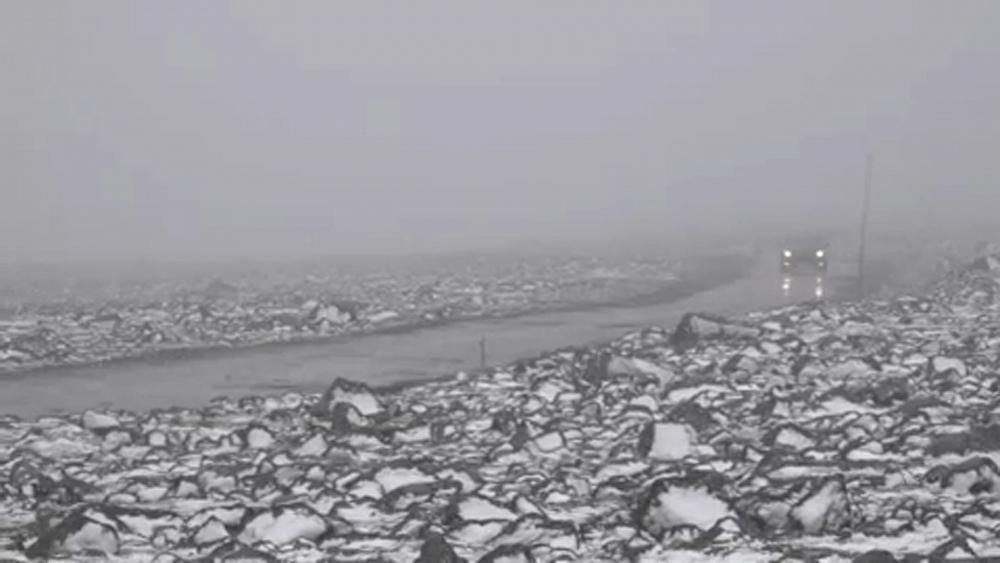 Das Wetter so im Juli 2020? Schnee in Norwegen