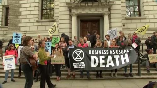 Climat : fin des manifestations à Londres