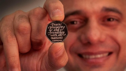 New Brexit coin unveiled as Britain prepares to leave EU