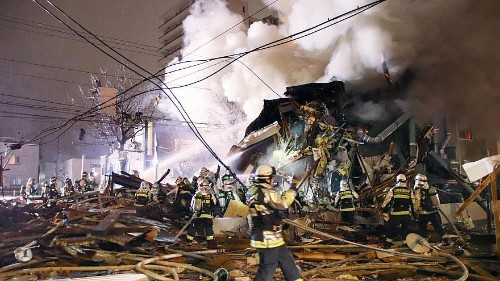 More than 40 people injured in Japan restaurant explosion