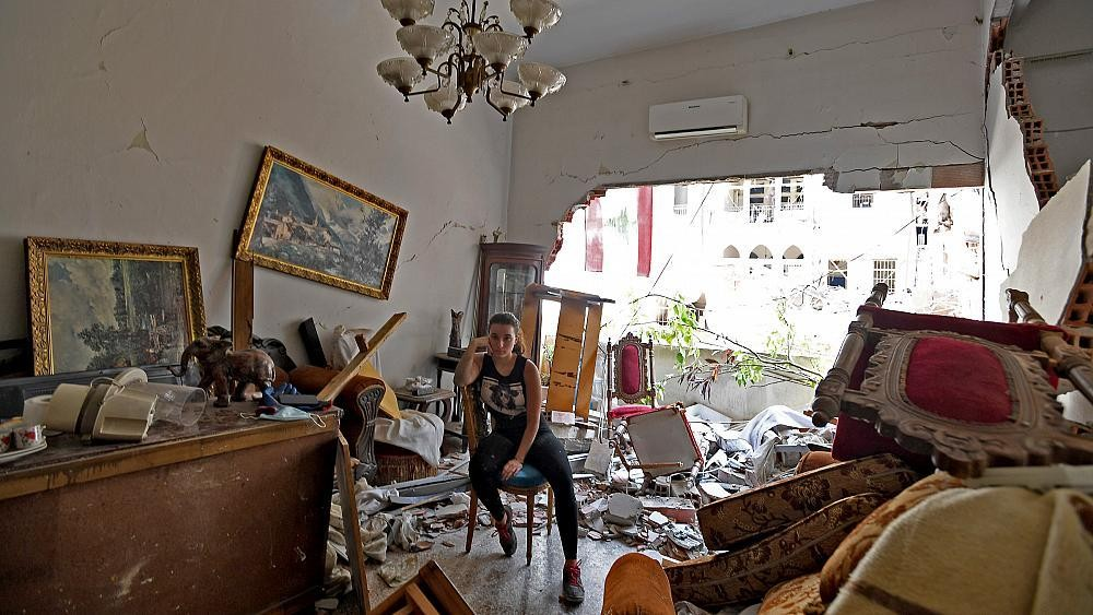 In photographs: Beirut residents show inside their destroyed homes