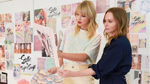 Stella McCartney and Taylor Swift team up