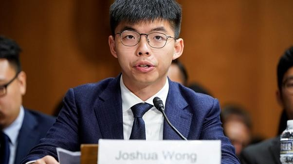 'There is no endgame': Hong Kong activism leader Joshua Wong speaks to Euronews