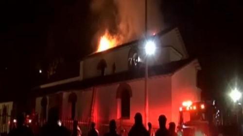 Cuzco's San Sebastian church gutted by fire