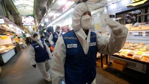 Covid-19 : la Corée du Sud, plus grand foyer de l'épidémie en dehors de la Chine