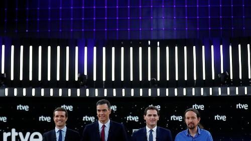 Ultime ore di campagna elettorale in Spagna. Sánchez apre a un'alleanza di sinistra con Podemos