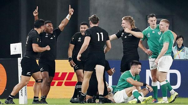 Rugby-WM: England und Neuseeland im Halbfinale
