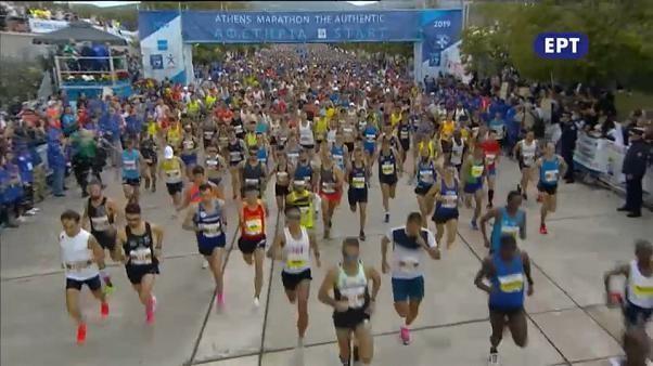 """Aux origines du marathon à l'""""Authentique"""" d'Athènes"""