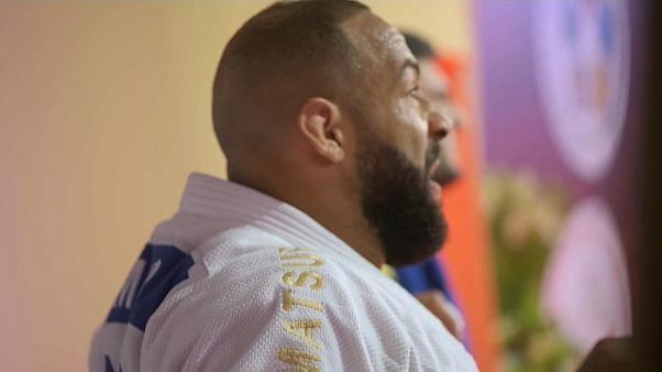 يوم سقوط عمالقة الجيدو على يد شيرازاديشفيلي في آخر نزالات بطولة غراند سلام أبو ظبي