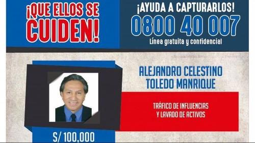 Il Perù chiede agli Stati Uniti l'estradizione dell'ex presidente accusato di corruzione