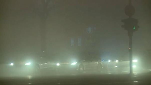 Sarajevo versinkt im Smog