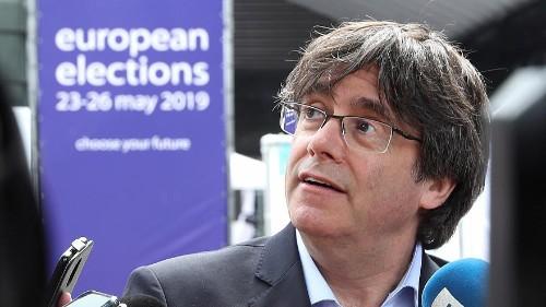 Catalan separatists facing jail in Spain win EU Parliament seats
