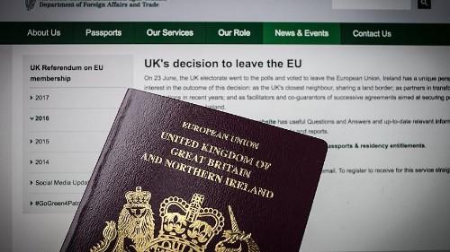 Britons scramble to get E.U. passports before Brexit