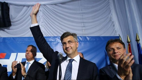 Croatia's Conservatives set to win most seats in parliamentary elections