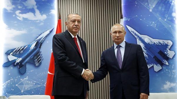 Erdogan & Putin agree steps to 'normalise' situation in Syria's Idlib