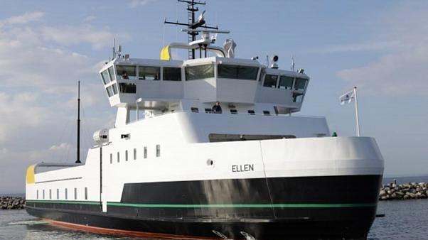World's largest all-electric ferry sets sail in Denmark