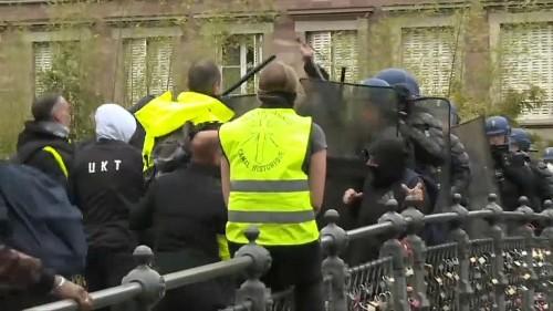 Gelbwesten: Gewalt in Straßburg
