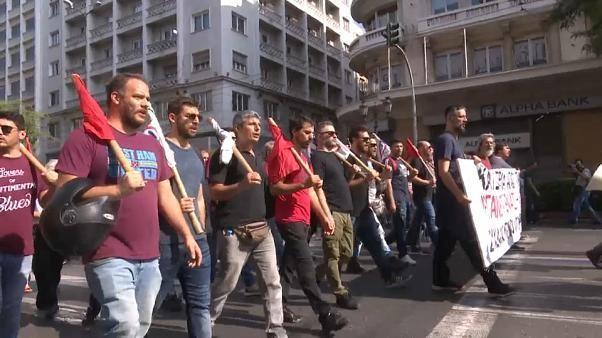 Grèce : mobilisation sociale contre une réforme du travail