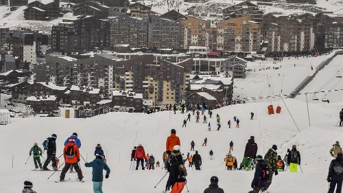 Ski resort workers protest as France's busy winter season begins