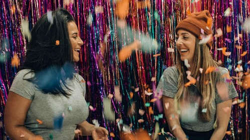 Why clothes swaps could be the antidote to fast fashion