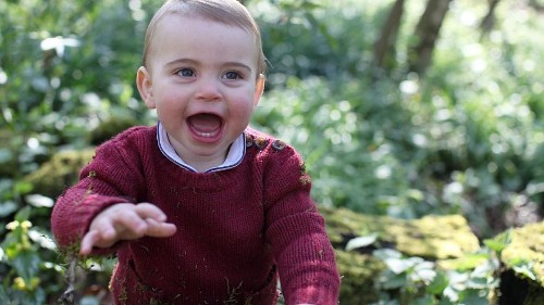Kensington Palace releases photos of Prince Louis to mark his first birthday