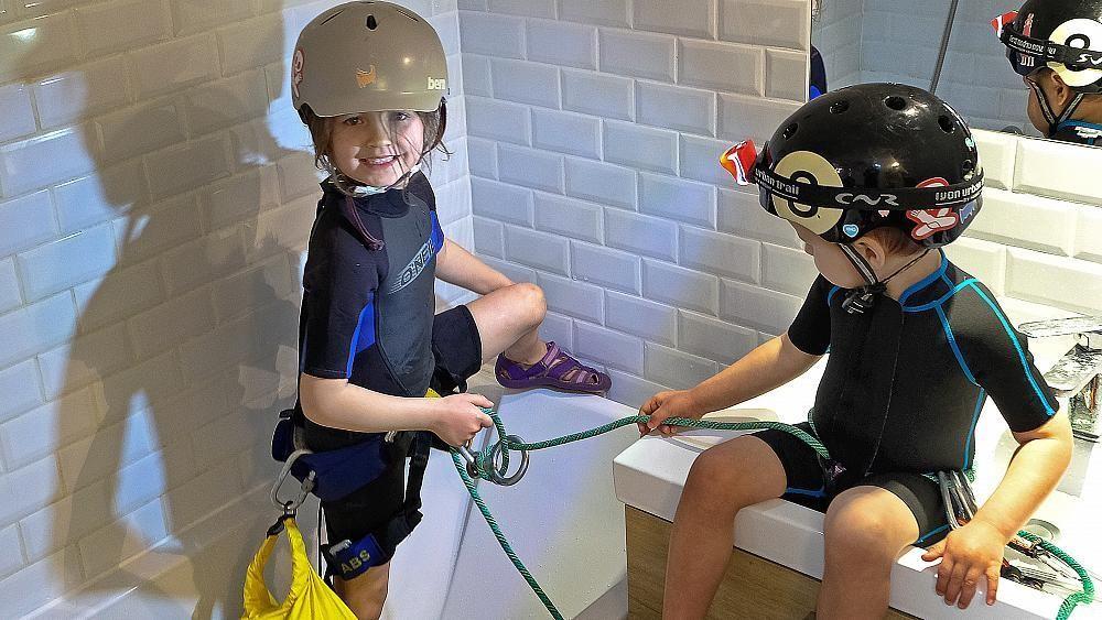 In pictures: Entertaining children through in coronavirus crisis