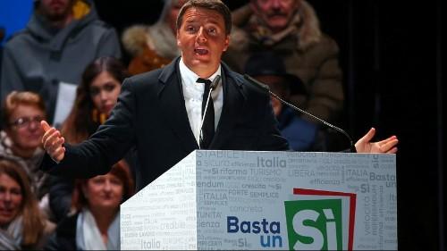 Italia, si chiude la campagna per il referendum costituzionale