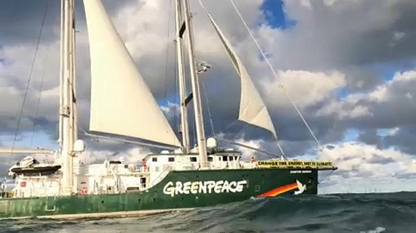 A night aboard the Rainbow Warrior