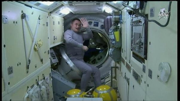 Watch: ISS astronauts land safely in Kazakhstan