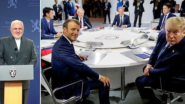 Chefe da diplomacia do Irão chega de surpresa à cimeira do G7