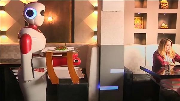 Nepal's digital restaurant where guests are served by robots