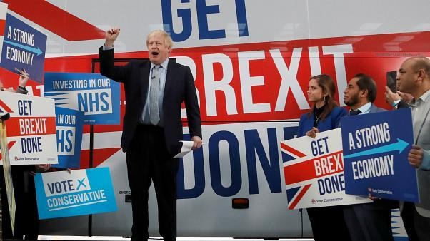 UK PM Boris Johnson says all Conservative candidates back his Brexit deal