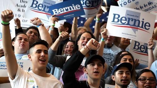Sanders enters Wednesday's debate as the Democratic front-runner