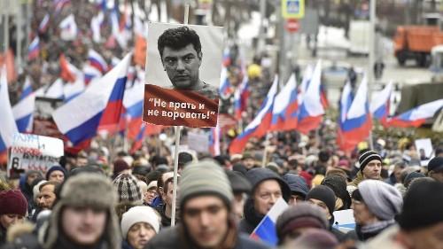 Five years after Nemtsov murder, West demands Russia names mastermind