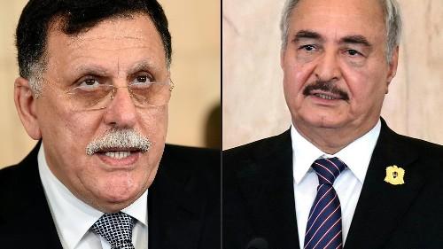Libyen-Konferenz: Haftar und al-Sarradsch in Berlin