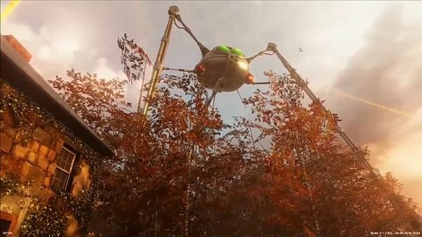 Watch: Exhibition transports Londoners to War of the Worlds