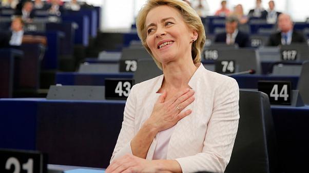 'Very relieved': Ursula von der Leyen gets Europe's top job in narrow vote