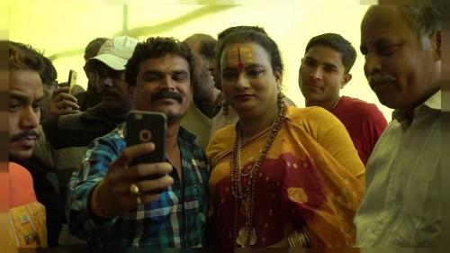 Members of India's transgender community take first Kumbh Mela swim