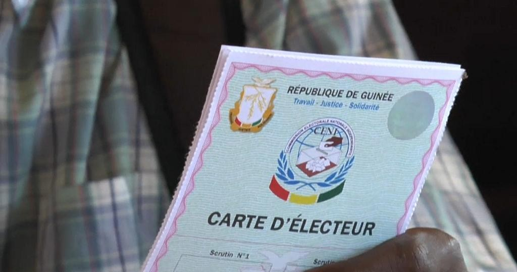 Guinea starts distribution of voting cards ahead of October Elections   Africanews