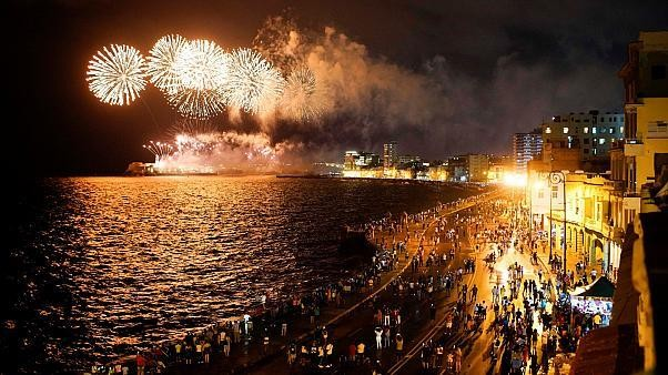 Havana, Cuba marks 500th anniversary with fireworks and celebration