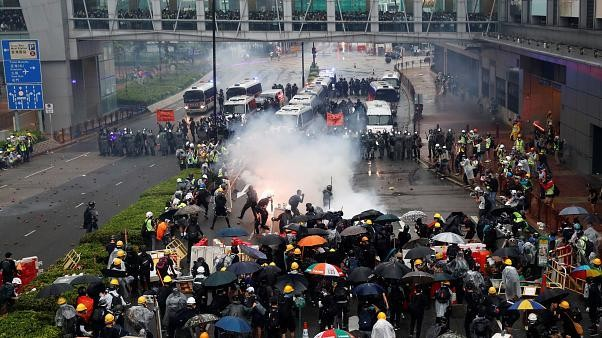 Finita la tregua a Hong Kong