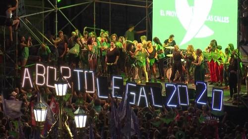 Argentinien: Grüner Protest für Recht auf Abtreibung