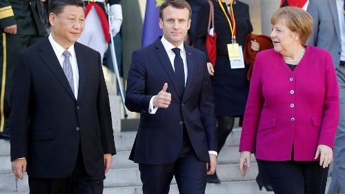 أوروبا متحمسة لخطة الحزام والطريق وميركل تريد من الصين المعاملة بالمثل
