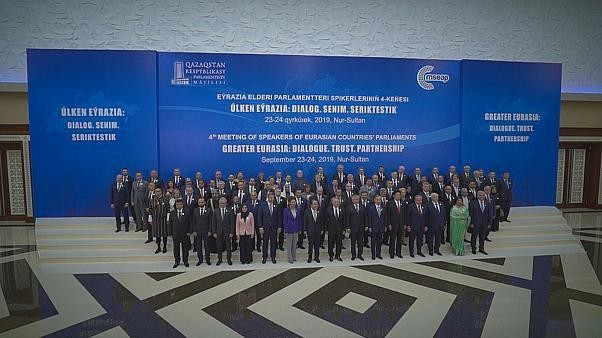 Building dialogue, trust and partnership; the meeting of speakers of parliaments begins in Nursultan