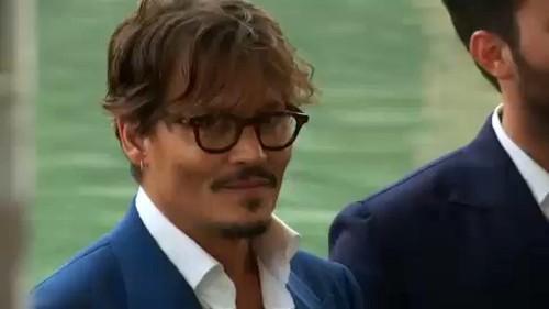 Neuer Film von Johnny Depp in Venedig