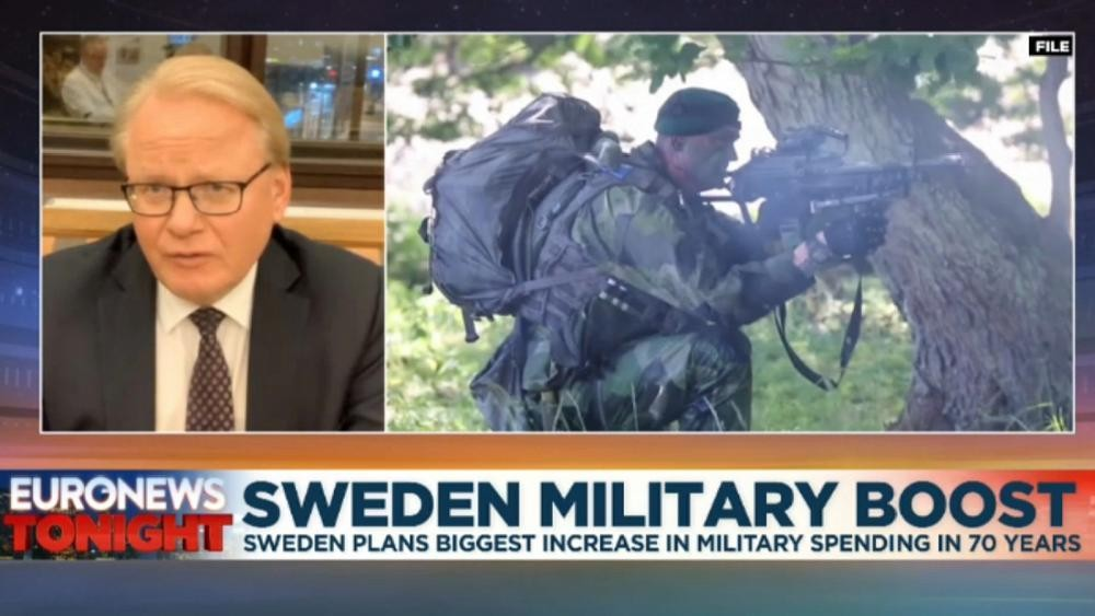 Sweden plans massive boost to military budget amid growing tension with Russia