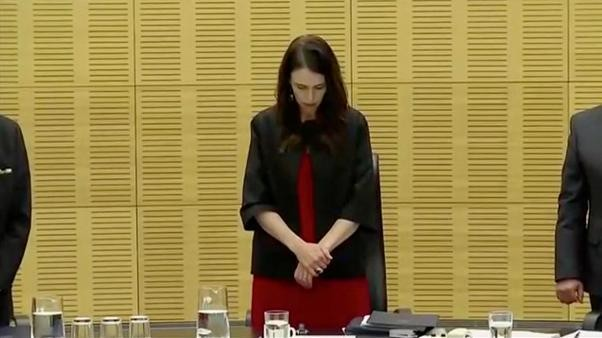 A week on, New Zealand observes minute of silence for volcano victims