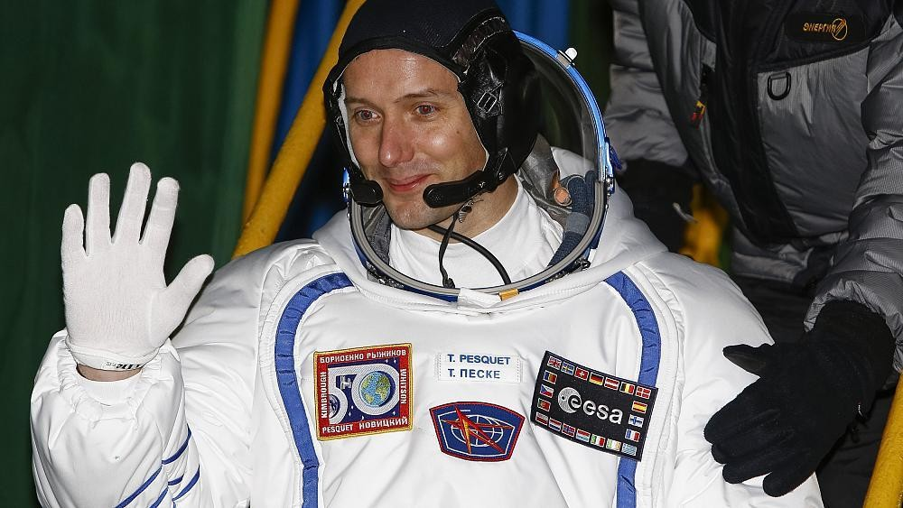 Thomas Pesquet to be first European to fly aboard Elon Musk's SpaceX capsule
