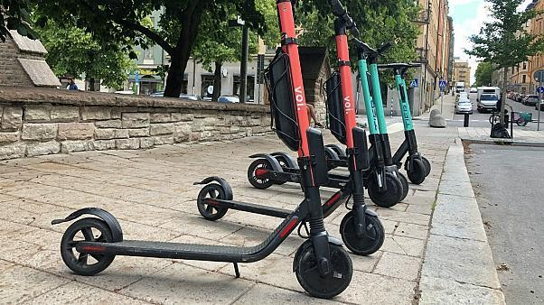 Danish police arrest dozens in two days for riding e-scooters while intoxicated